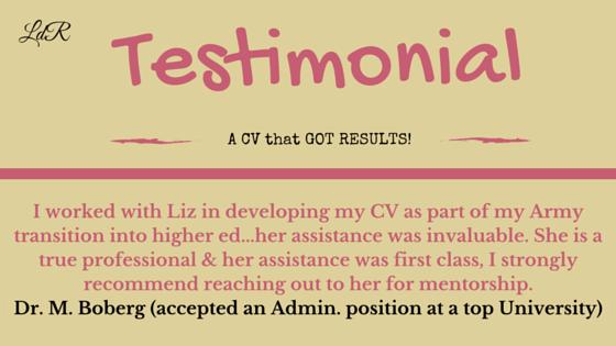 CV Assistance